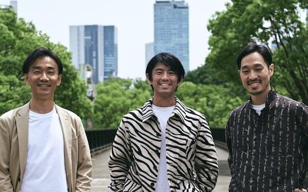 ゼブラアンドカンパニーはインパクト投資やベンチャー投資の経験者ら3人が創業した(撮影:沢圭太)
