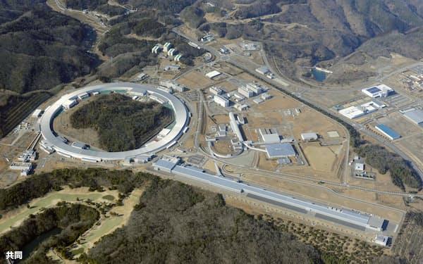 兵庫県の大型放射光施設「スプリング8」=共同