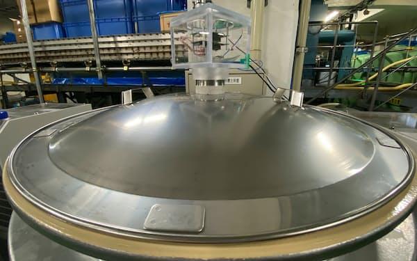 旭化成は日本酒の製造過程でにおいセンサーを活用した