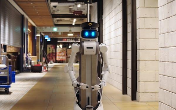 ユーゴーのロボットは巡回警備を代替する