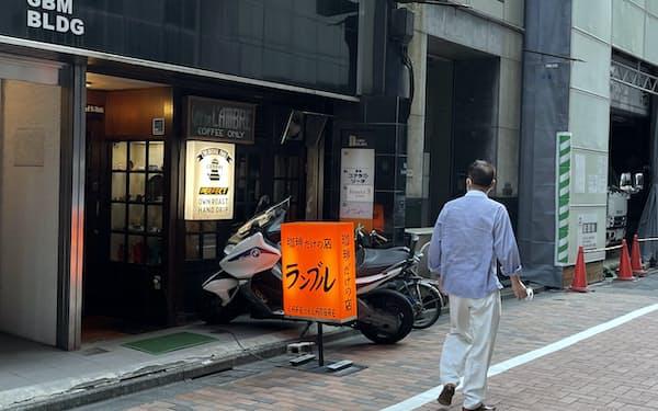 「カフェ・ド・ランブル」には今もコーヒーファンが通う(東京・中央)
