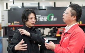 オリィ研究所の吉藤CEOは浜野製作所から多大な支援を受けた。今もやりとりは続く