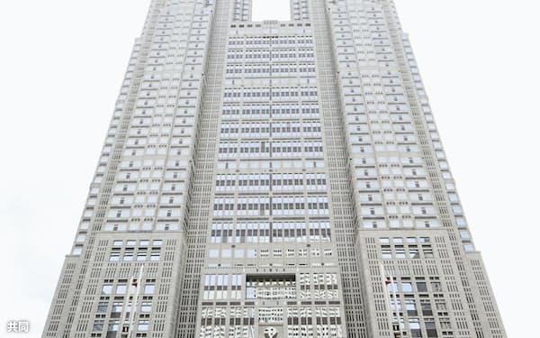 東京都庁舎。都議会議員選まであと2週間となった(共同)