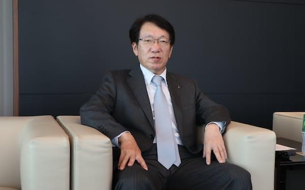 三菱自動車の加藤隆雄社長