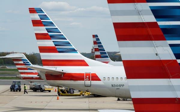 アメリカン航空は人手不足を理由に週末に約300便をキャンセルした=ロイター