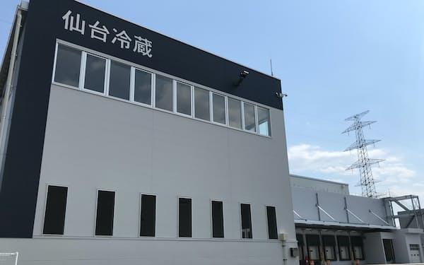 仙台冷蔵倉庫は新設した物流センターを本格稼働した(宮城県多賀城市)