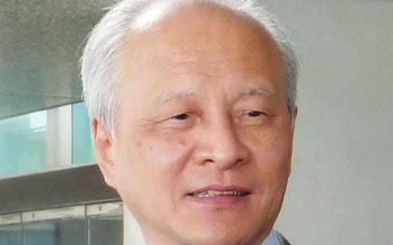 中国の崔天凱駐米大使=共同