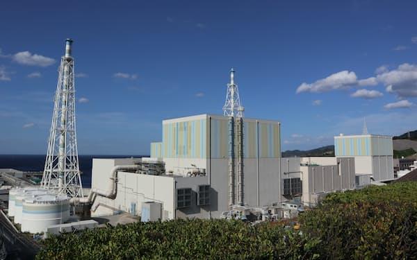 中国電力の島根原子力発電所(松江市)