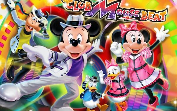 東京ディズニーランドで7月2日から新しいショー「クラブマウスビート」を始める
