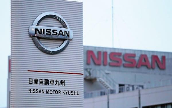 日産自動車九州では7月に一部ラインで稼働を止めるほか夜勤も大幅に減らす