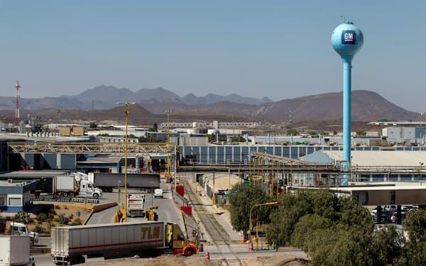 GMはメキシコ北部コアウイラ州でEVを生産する(ラモスアリスペ工場)=ロイター