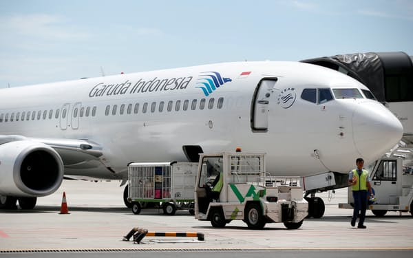 ガルーダ・インドネシア航空の負債総額は約5400億円に達し、債務超過状態だ=ロイター