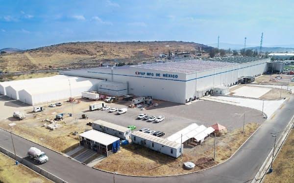 メキシコ工場でEV向け部品を生産する