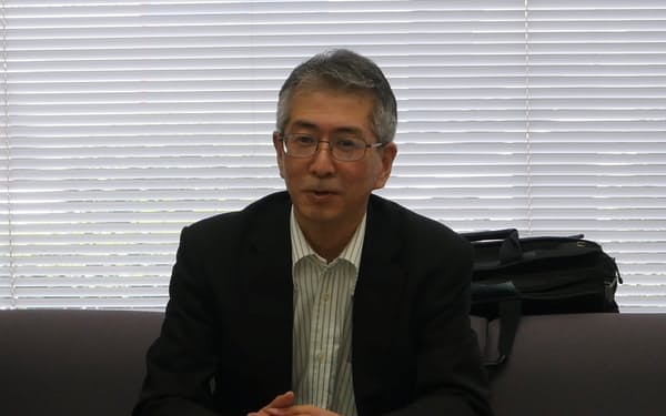 コーセルの谷川正人社長は「回復基調にはあるが、新型コロナの再拡大などを考えると油断はできない」と話した