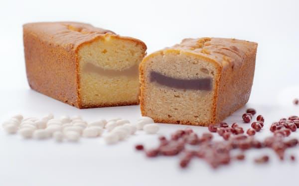 赤福が7月に発売する洋菓子「あんパウンドケーキ」