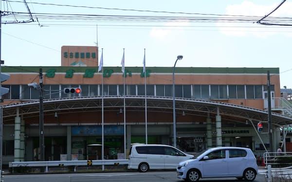 移転が決まった名古屋競馬場(名古屋市)