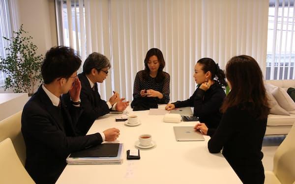 ベアジャパンは九州の紡績メーカーと開発した吸水ショーツで販売実績を上げ、事業拡大を目指す