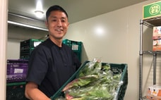 地場の野菜を飲食店に 「マイクロ流通」で就農者を応援