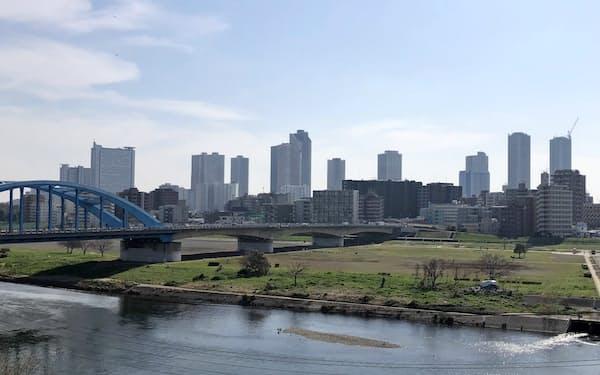 中古市場のマンション需要は旺盛だ(川崎市の武蔵小杉駅周辺)
