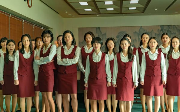 正義のために立ち上がる女性社員たちを描いた韓国映画「サムジンカンパニー1995」(C)2021 LOTTE ENTERTAINMENT & THE LAMP All Rights Reserved.