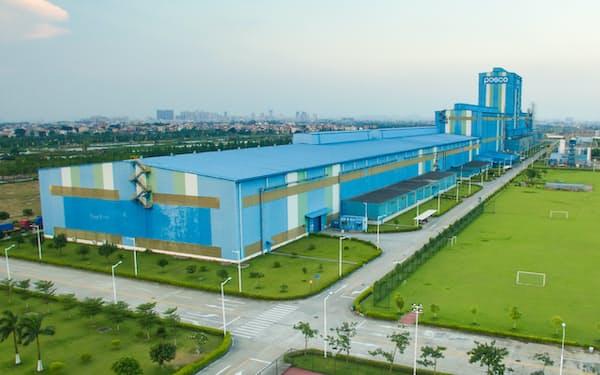 ポスコは中国広東省で45万トンの車両鋼板を生産している