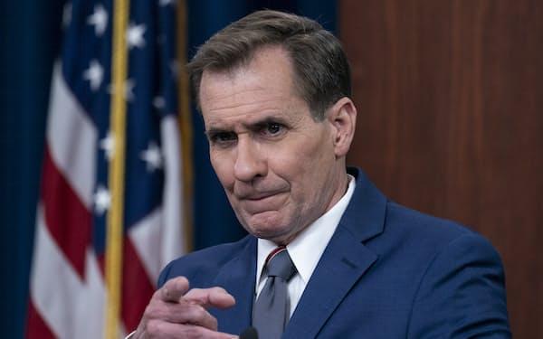 米国防総省のカービー報道官は声明で「確認済みだろうが未確認であろうが飛行物体による侵入を極めて深刻なものととらえる」と強調した=AP