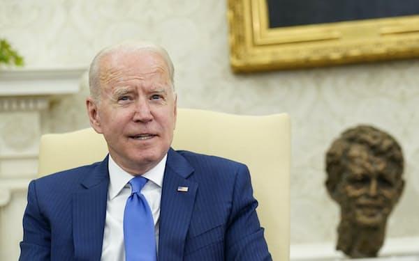 バイデン米大統領はイラン核合意への復帰を目指している=AP