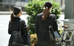 就活生の間でも、性別による役割固定の意識が根強く残っているケースがあるという