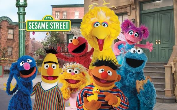 セサミストリートの国内版権を獲得した© 2021 Sesame Workshop. All rights reserved.