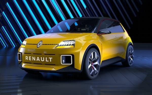 ルノーはEVで復活させる往年の人気車「ルノー5」などにエンビジョンAESC製の電池を使う見通し=ルノー提供
