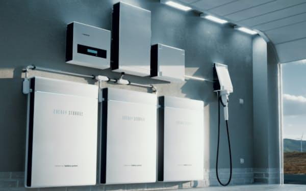 昭文社HDは蓄電システムの開発・販売に参入する(蓄電システムのイメージ)
