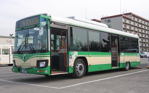 路線バスで自動車学校の送迎を代替する