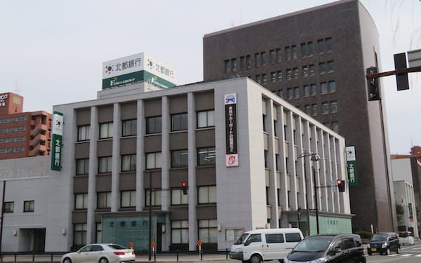 北都銀行の本店(秋田市)