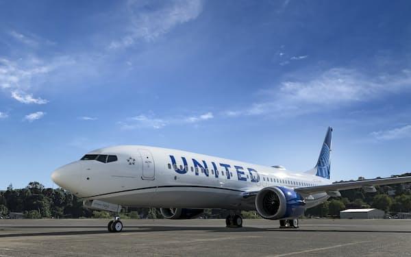 ユナイテッド航空は新型機への切り替えを進める