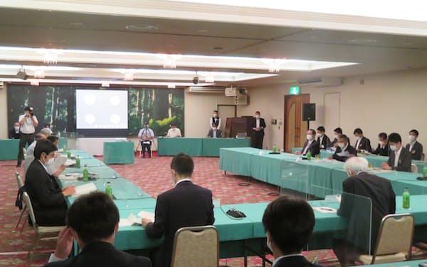 第3回協議会が29日、秋田県能代市で開かれた