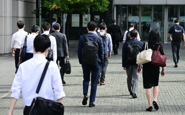 5月の完全失業率は3.0%だった