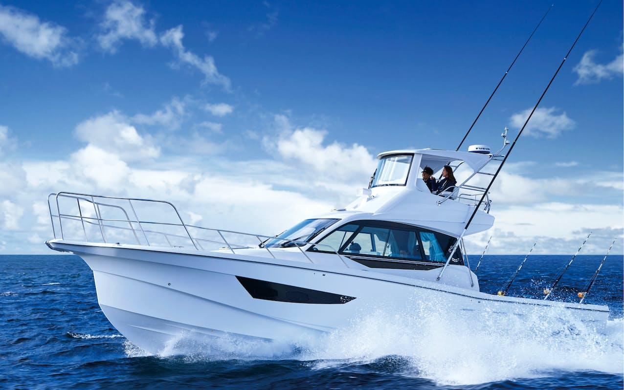 プレジャーボートの運転免許を取得する人が増えている(写真はヤンマーのボート)