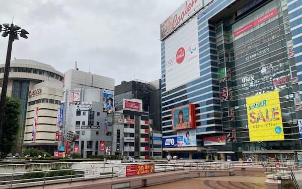 埼玉県内路線価の最高価格地点となったさいたま市大宮区桜木町2丁目付近