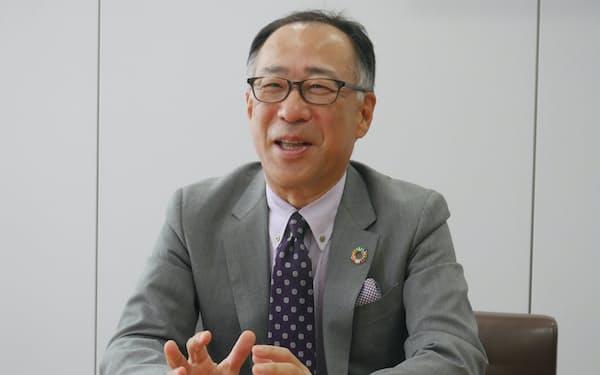 TISの岡本安史社長