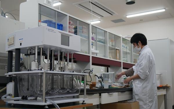 センタンファーマは久留米リサーチ・パークの新棟に研究所を設けた