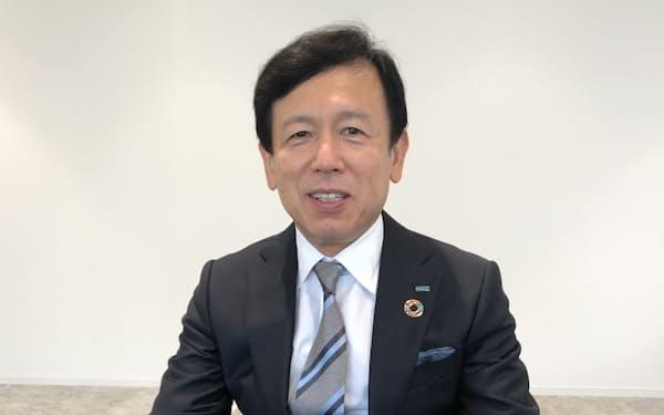 日本損害保険協会会長に就任した船曳真一郎・三井住友海上火災保険社長