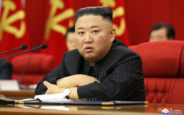 金正恩氏は主要幹部の一部を交代させた=朝鮮中央通信・ロイター