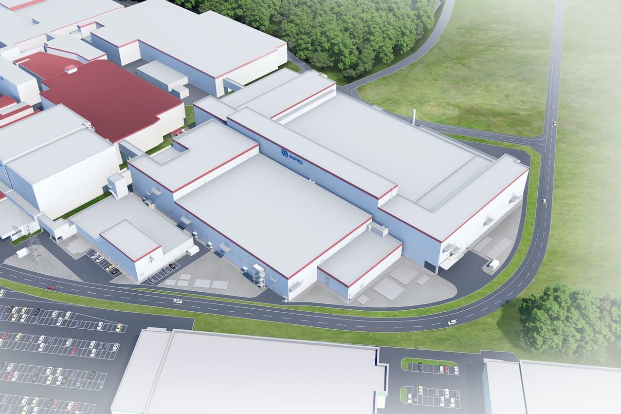 第7工場の完成予想図