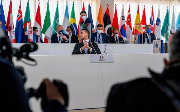 G20外相・開発相会合では中国を念頭に途上国支援での透明性が重要と確認した=ロイター