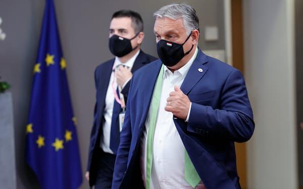 ハンガリーのオルバン首相のような強権指導者とEUは頻繁に対立し、共にやって行く難しさが浮き彫りになっている=ロイター
