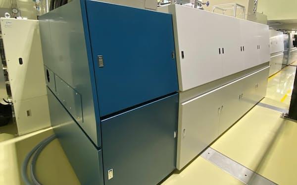 世界最高出力の産業用パルスレーザー装置