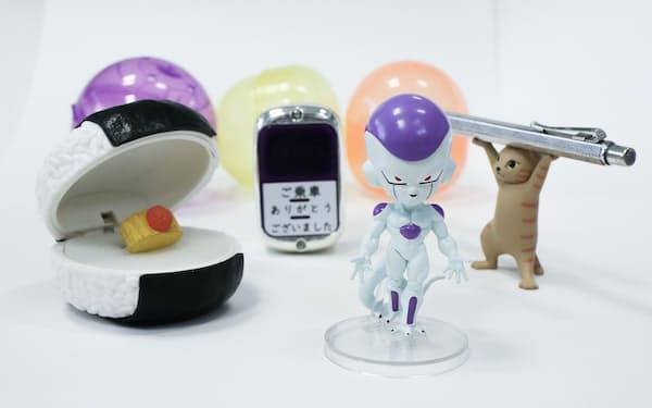 小ネタものやアニメ関連の商品が人気