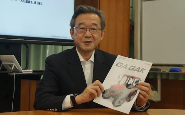 「赤字体質の脱却が私のミッション」と語る斎藤徹社長