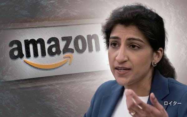アマゾンはカーンFTC委員長を反トラスト法調査から除外するよう求める嘆願書を提出した