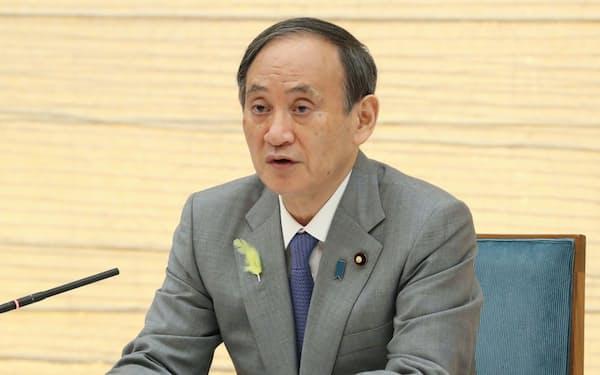 菅首相(6月30日、首相官邸)